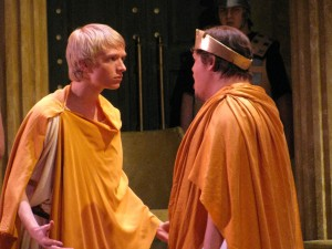 creon and haemon Creon accuses haemon of being a woman's slave, to which his son simply replies that antigone will not die while he is near, and that creon will never see his face again he exits, and the chorus warns of the impulsiveness of youth.