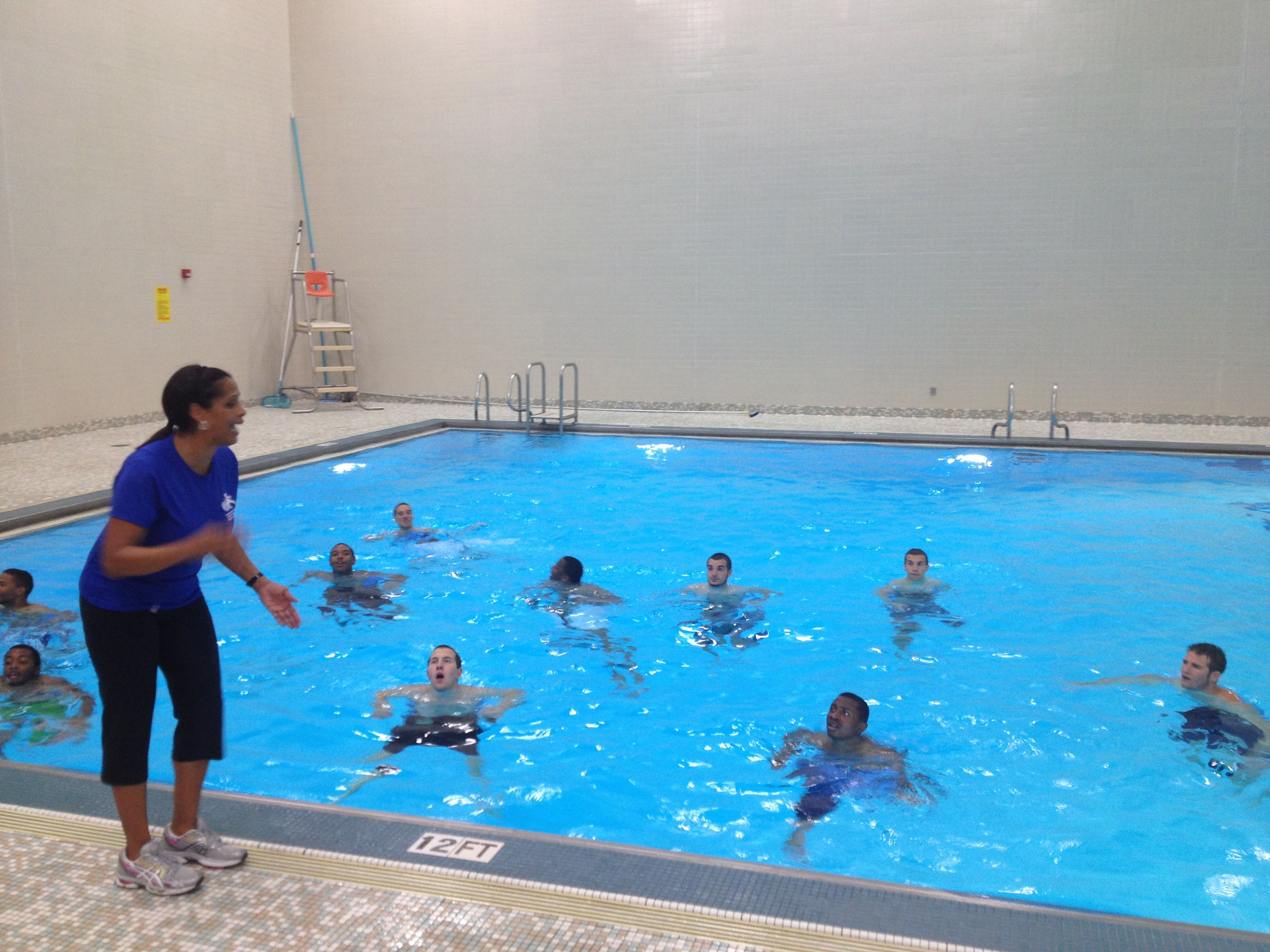 Light Workout As It 39 S The First Practice Session Pool Executes Only Workouts