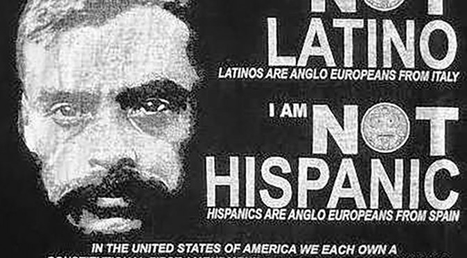 Mexican not hispanic