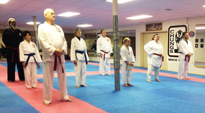 Lifelong Learners earn black belts at Sinclair