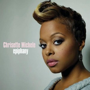"The cover of Chrisette Michele's new album ""Epiphany."""