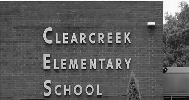 Clearcreek Elementery School sign